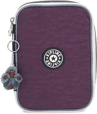Kipling 101 - Estuche para bolígrafos, (Morado Verbena Colorblock), Talla única: Amazon.es: Zapatos y complementos