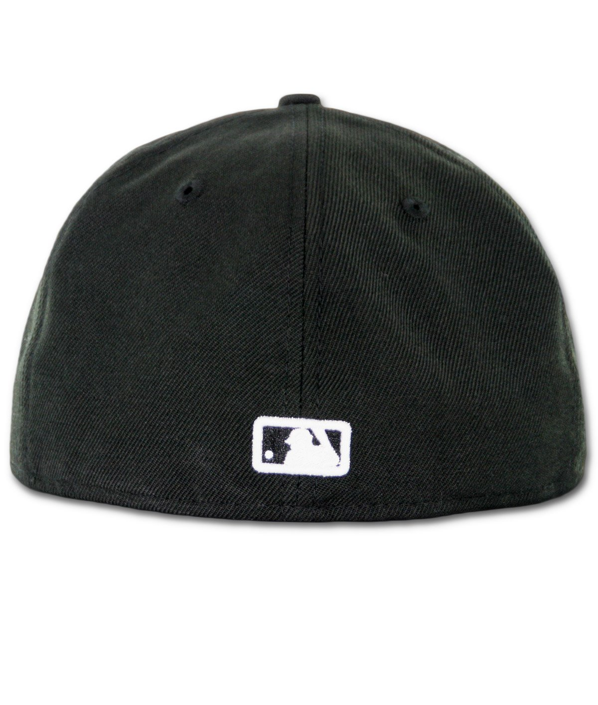 4180abac537 Amazon.com   New Era MLB Los Angeles Dodgers Black with White 59FIFTY Fitted  Cap   Sports   Outdoors