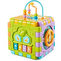 ToyVelt Activity Cube for Toddlers Baby Educational Musical Toy for Kids - Early Development Learning Toys with 6…