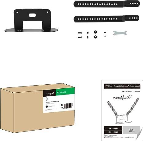 PureMounts PM-SOM-080 para montaje directo en TV, compatible con ...