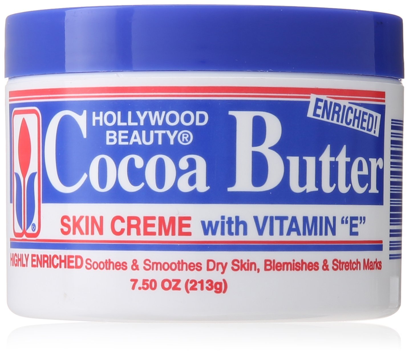 Hollywood Beauty Cream, Cocoa Butter, 7.5 Ounce