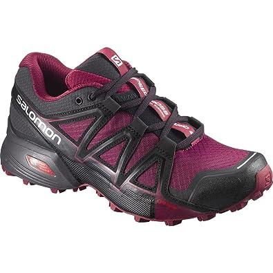 newest 3d8f8 d2885 Salomon Speedcross Vario 2 W, Chaussures de Running Femme - Multicolore -  Violet Rouge