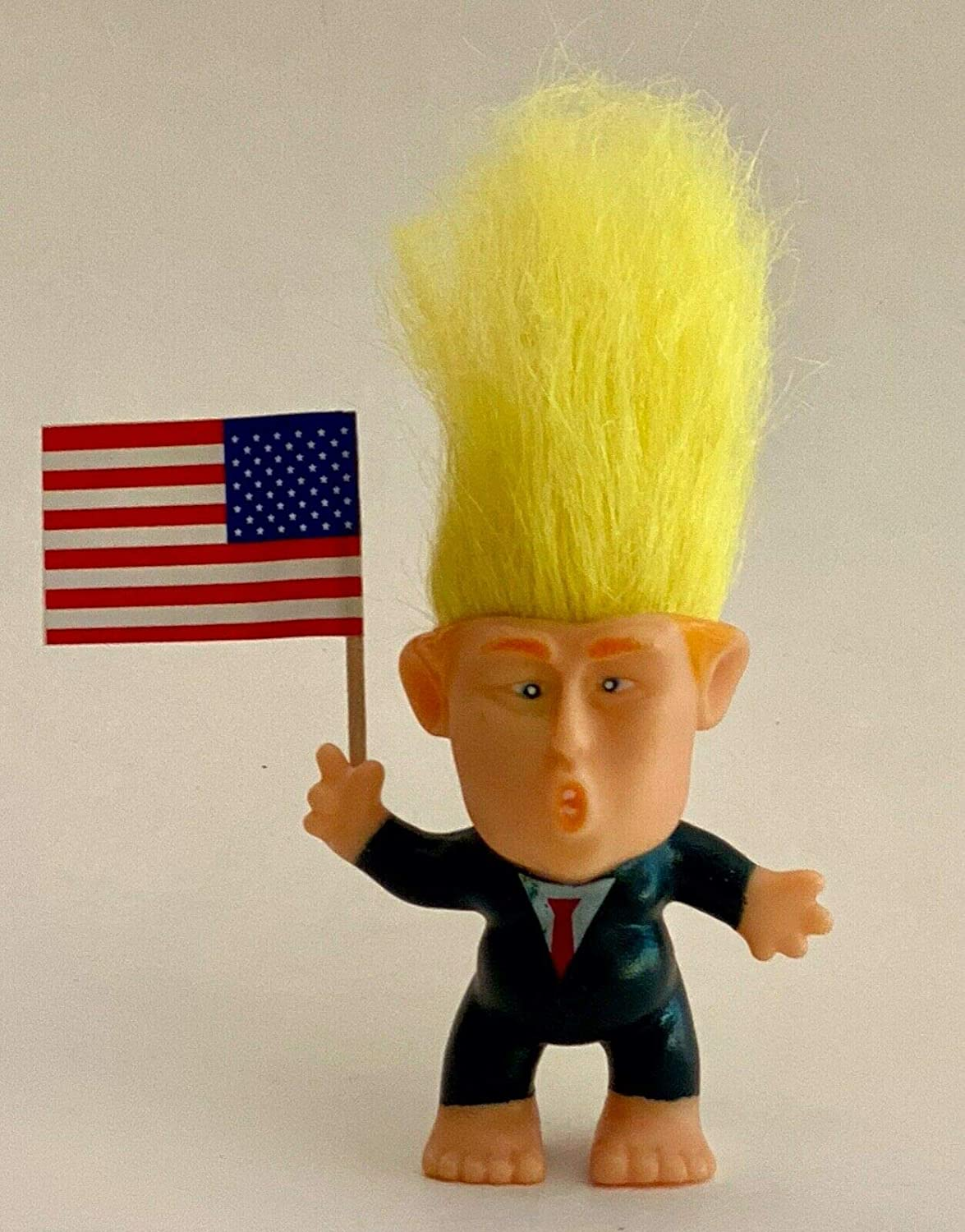 PRESIDENT DONALD TRUMP TROLL Doll Hair To The Chief Make America Great Again