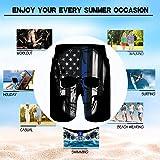 Alistyle Mens Swim Trunks Summer 3D Print Swimming