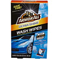 Deals on 12CT Armor All Car Wash Wipes Interior Cleaner for Cars