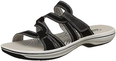 7c724b4c778f Clarks Womens Black  Brinkley Lonna  Sandals  Amazon.co.uk  Shoes   Bags