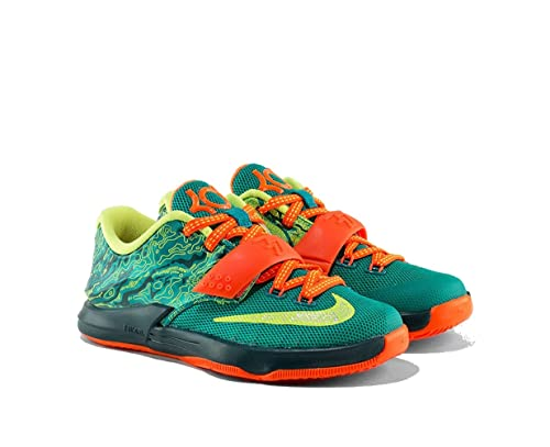 sports shoes 898c5 0556a Nike Boys PS KD 7 Weatherman Low Basketball Shoes 12C  Amazon.ca  Shoes    Handbags
