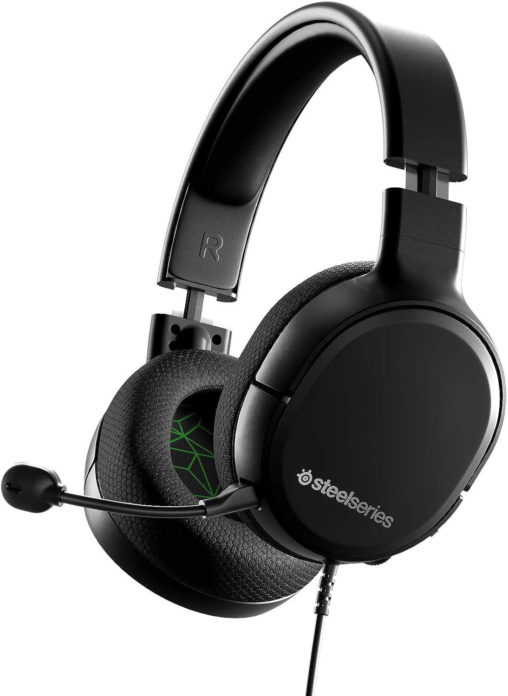 SteelSeries Arctis 1 - Micro ClearCast desmontable, Compatibilidad con todas las plataformas - para Xbox / PC / PS4 / Nintendo Switch & Lite, Móvil (Xbox One)