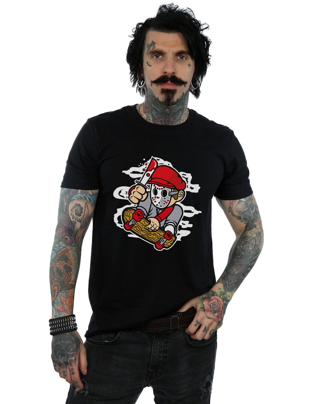 Drewbacca S Killer Skater Tshirt
