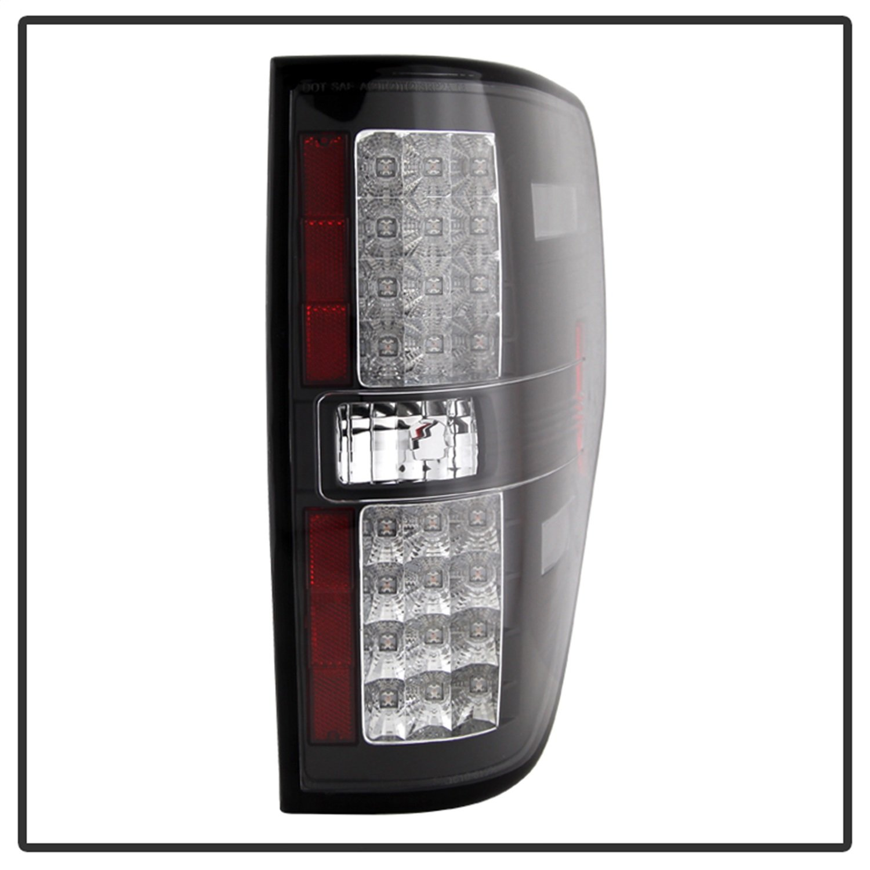 Spyder Auto 5008374 LED Tail Lights Black//Clear