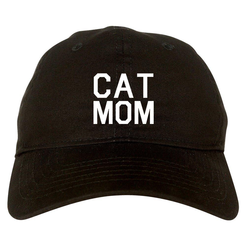 b191cedbf11 Amazon.com  Cat Mom Cat Mother Dad Hat Baseball Cap Black  Clothing