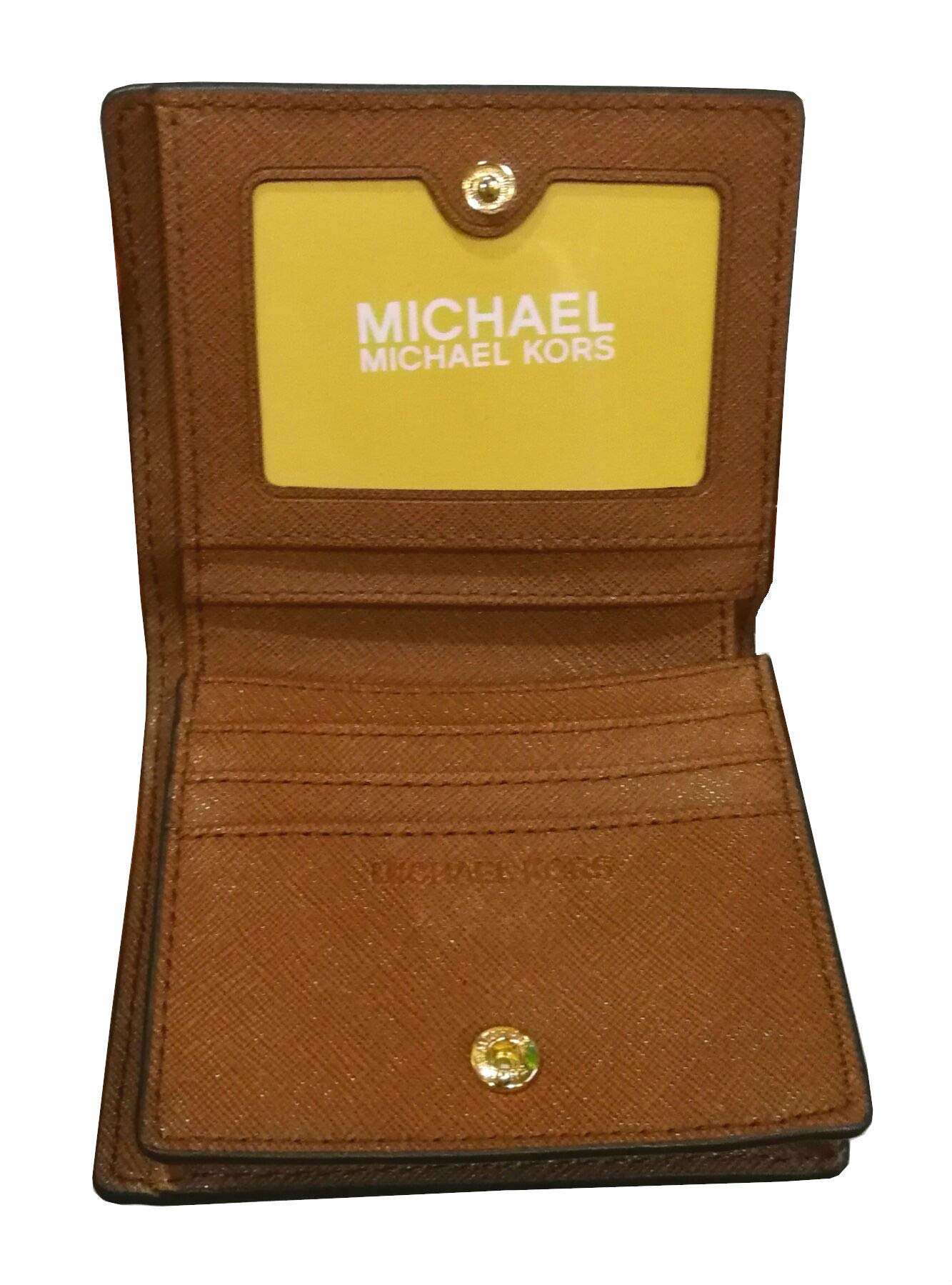 Michael Kors Fulton Leather Carryall Card Case Wallet (Luggage) by Michael Kors (Image #4)
