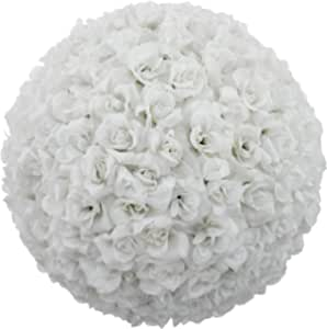 Luxury Silk Rose Flowers Ball 18cm Artificial Plants For Home Party Bridal Bouquet Wedding Arts/Crafts Projectroseball-001-18-pink