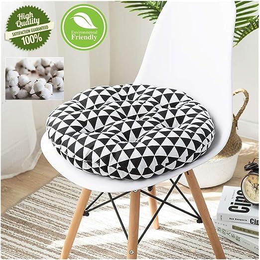 round grey outdoor seat cushion uk