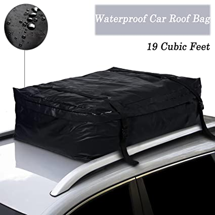af3de9b76a Amazon.com   Ferty Waterproof Rooftop Cargo Carrier