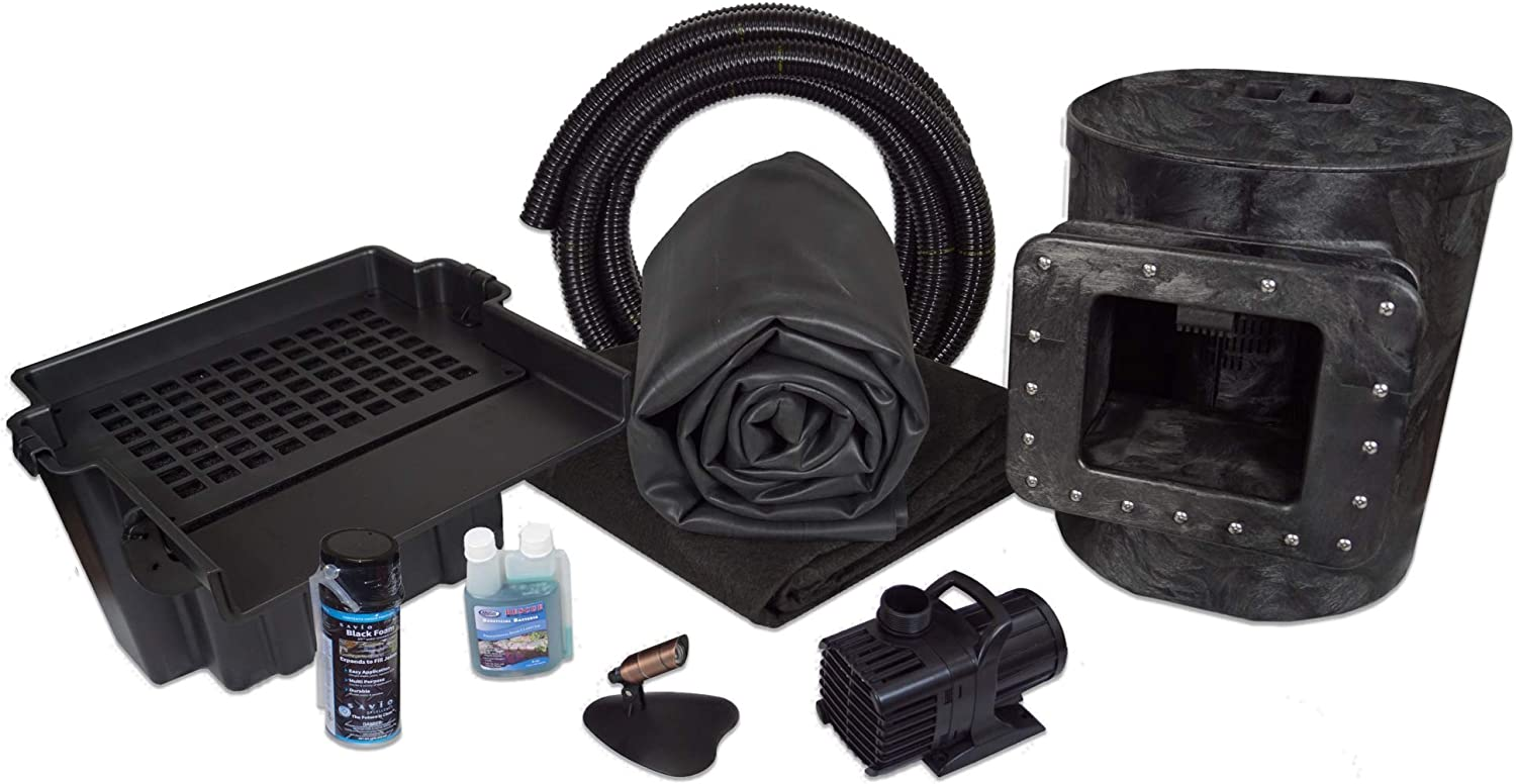 HALF OFF PONDS - Simply Ponds 4000 Water Garden and Pond Kit with 10