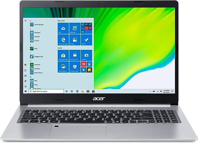 "Acer Aspire 5 A515-46-R14K Slim Laptop   15.6"" Full HD IPS   AMD Ryzen 3 3350U Quad-Core Mobile Processor   4GB DDR4   128GB NVMe SSD   WiFi 6   Backlit KB   Amazon Alexa   Windows 10 Home (S Mode)"