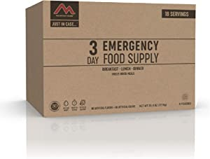 Mountain House 3-Day Emergency Food Supply | Freeze Dried Survival & Emergency Food | 18 Servings