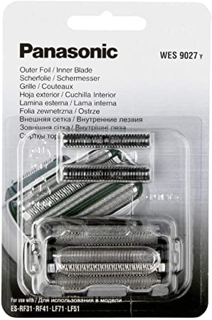 Panasonic WES9027 Foil & Cutter Pack with 6ml of Appliance Oil (WES9027Y): Amazon.es: Salud y cuidado personal