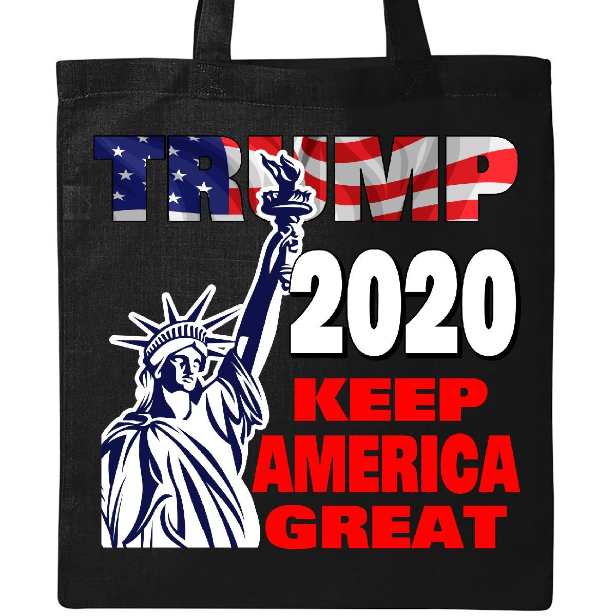 Inktastic - Trump 2020 Keep America Great Tote Bag Black 31618