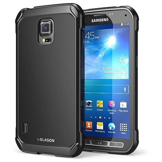 huge selection of f3cb4 c33e0 Amazon.com: Galaxy S5 Active Case, i-Blason SoftGel Flexible TPU ...