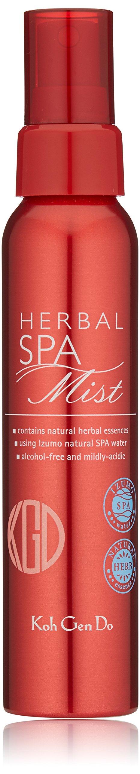 Koh Gen Do Spa Water Herbal Mist, Unscented, 3.38 fl. oz.