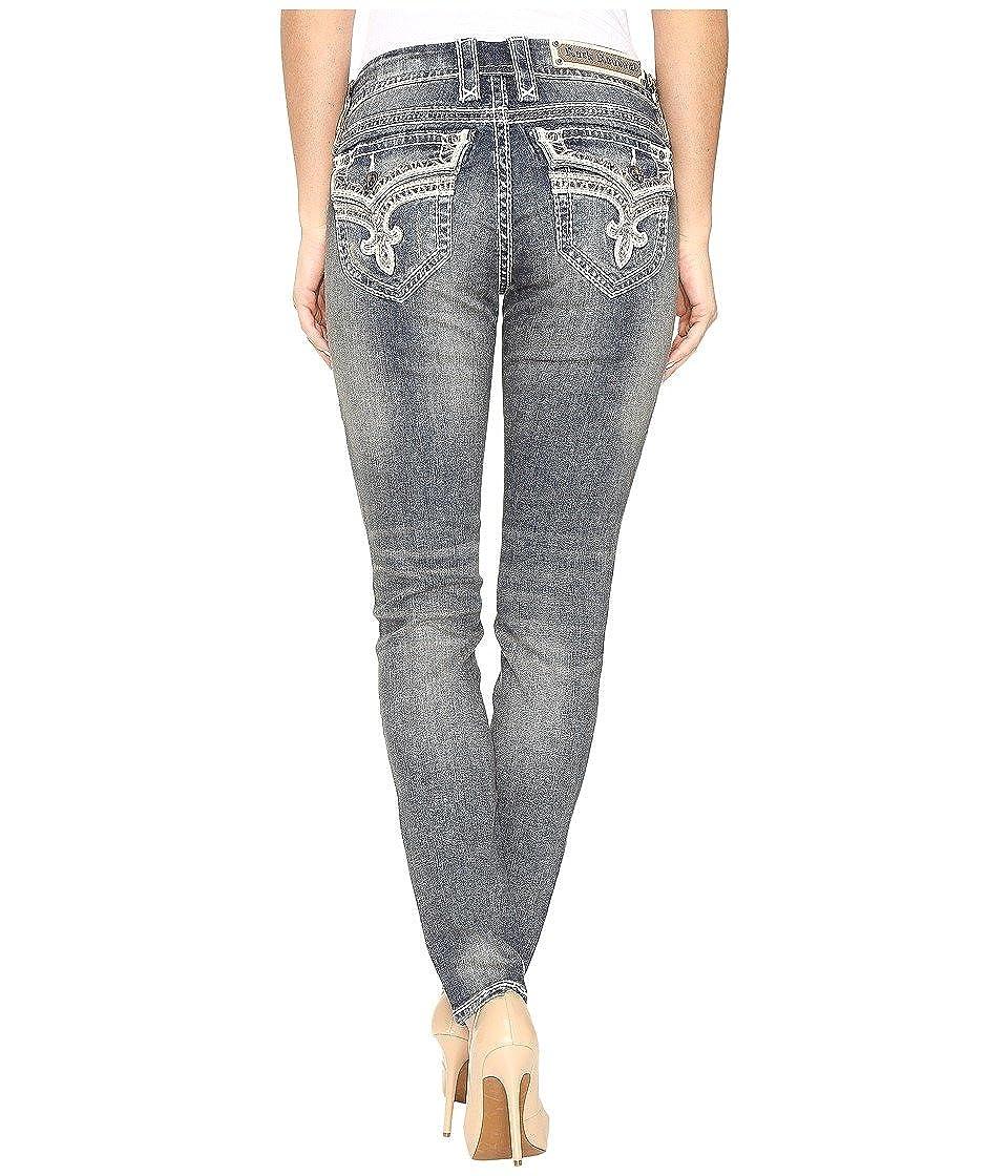 529094552b9 Rock Revival Women's Mare S202 Vintage Blue Jeans at Amazon Women's ...