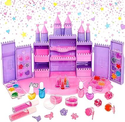 Little Fairy Princess - Castillo de Cosméticos - Juguetes de maquillaje para niñas: Amazon.es: Belleza