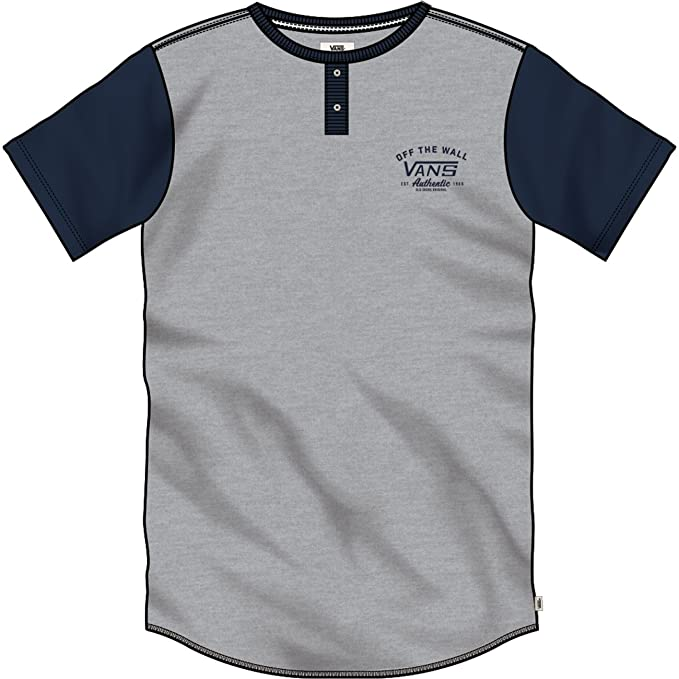 Camiseta Vans – Hitson gris/azul talla: L (Large)