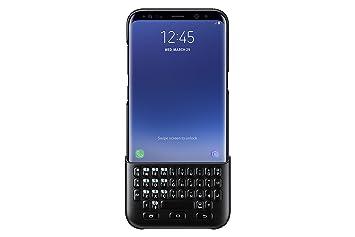 Samsung EJ-CG955 Negro Teclado para móvil - Fundas para teléfonos móviles, Galaxy S8+