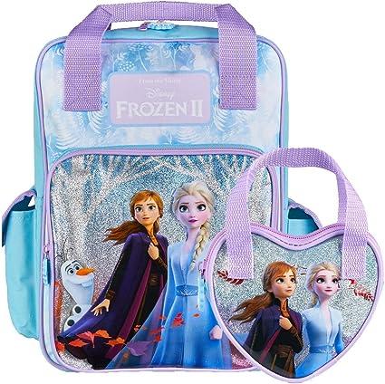 Disney Frozen Anna /& Elsa Backpack Bag for Kids brand new