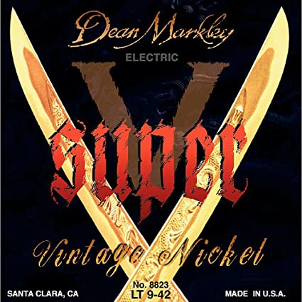 Dean Markley Super-V cuerdas de guitarra electrica 9-42