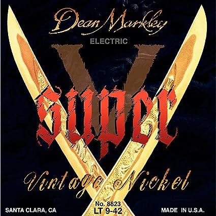 Dean Markley Super-V cuerdas de guitarra electrica 9-42