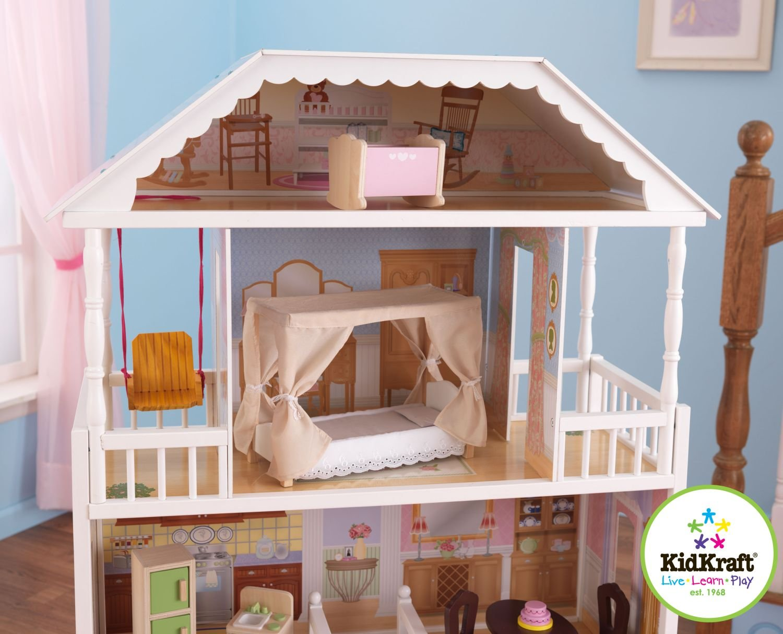 Maison de poupée KIDKRAFT pas cher  maison de poupée au meilleur prix