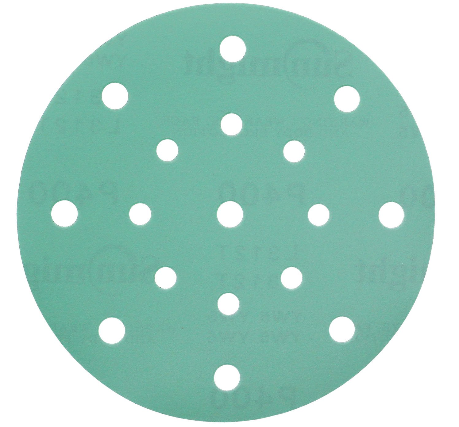 Sunmight 47614 1 Pack Velcro Disc Grit (Film - 6'' 17 Hole 320)