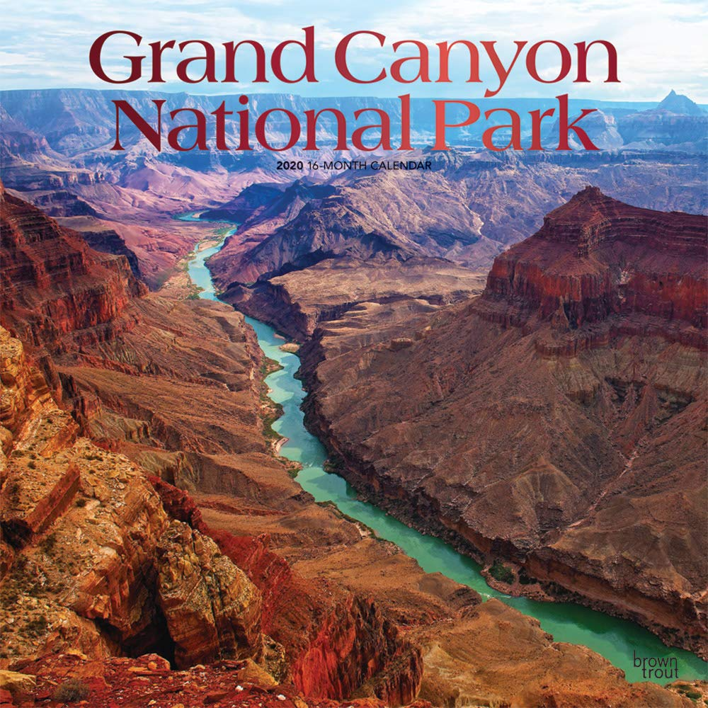 Grand Canyon National Park 2020 12 X 12 Inch Monthly Square