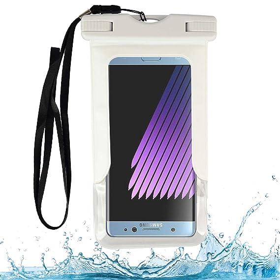 hot sale online 7b5fc 6c8c7 Amazon.com: VG Case White Waterproof Cell Phone Armband Case Dry Bag ...