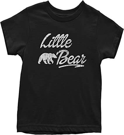 Youth Little Bear Cute Gift for Children Brother Funny Novelty Family T shirt
