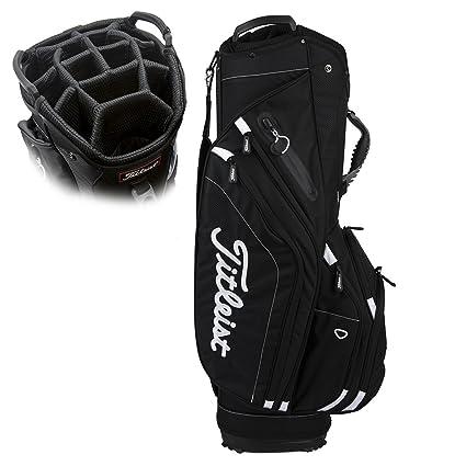 da0a3eefcc Amazon.com : Titleist Lightweight CART Bag Black : Sports & Outdoors