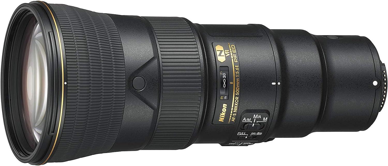 Af S Nikkor 500 Mm 1 5 6e Pf Ed Vr Inklusive Hb 84 Kamera