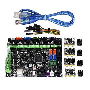 PoPprint MKS Gen L V1.0 - Kit de controlador de placa base ...