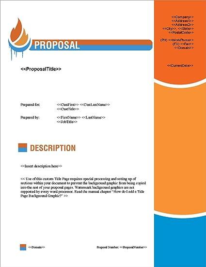 amazon com proposal pack hvac 1 business proposals plans