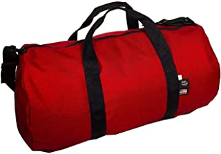 product image for Tough Traveler Round Duffel Bag - Made in USA (Large, Red)