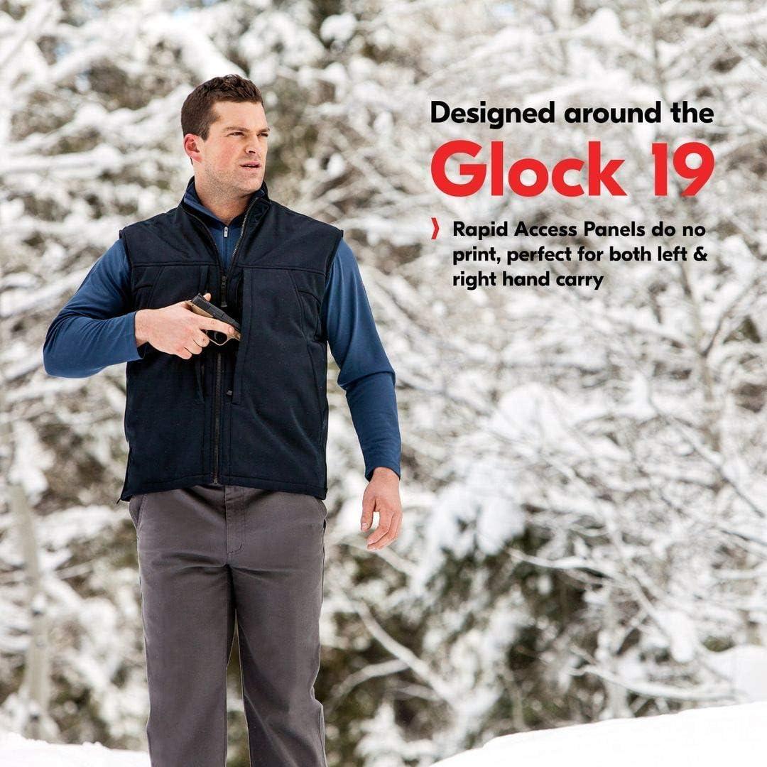 Convertible Tactical Vest SCOTTeVEST Enforcer Concealed Carry Jacket for Men