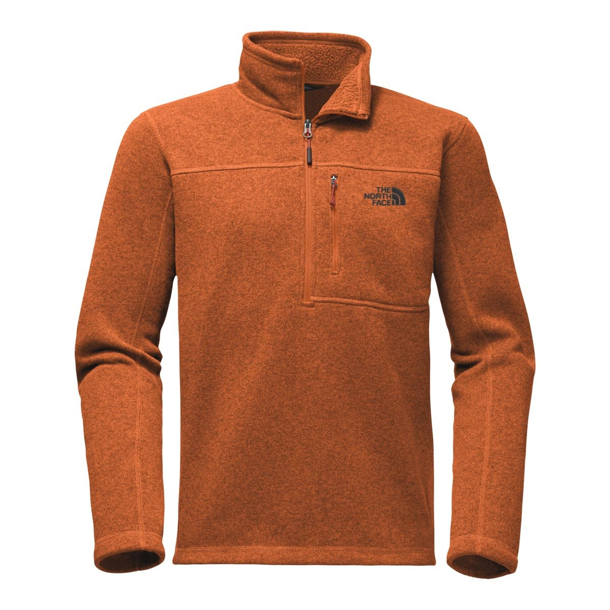 The North Face Men's Gordon Lyons 1 & 4 Zip - Autumnal Orange Heather - 3XL (Past Season)
