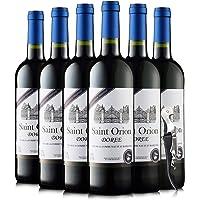【优红酒酒庄直采】法国原瓶原装进口红酒 奥瑞安系列干红葡萄酒整箱6瓶装(蓝标)750ml*6
