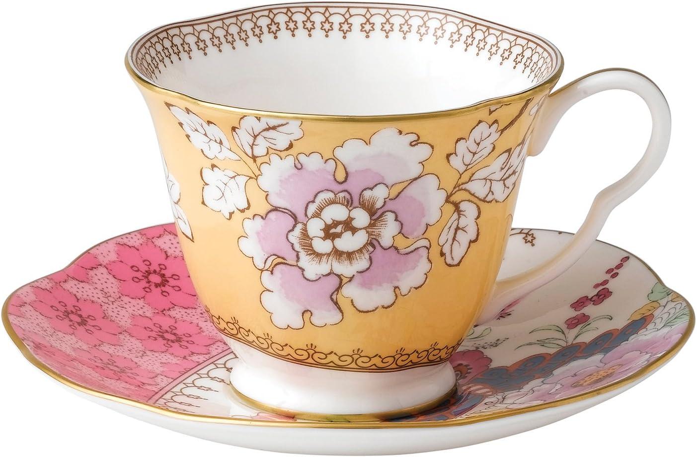 Cup /& Saucer ~Multiple Avail Various Flowers Royal Doulton SPRINGTIME TC1113