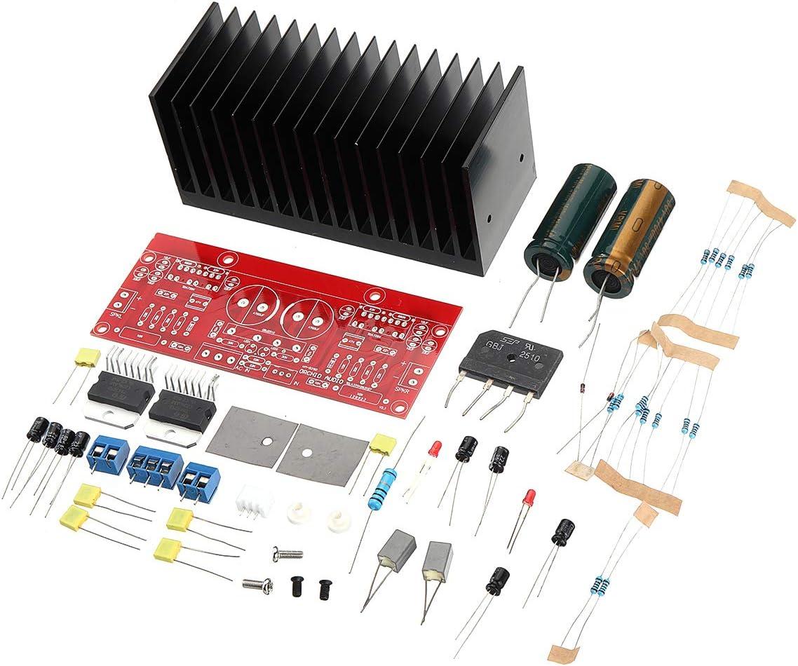 ILS – WM-029D Dual AC12-32V 2.0 Channel TDA7293 100 + 100 W HIFI Kit tarjeta amplificador audio estéreo