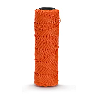 Bon 11-874 350-Feet Neon Orange EZC Twisted Nylon Mason Line: Home Improvement