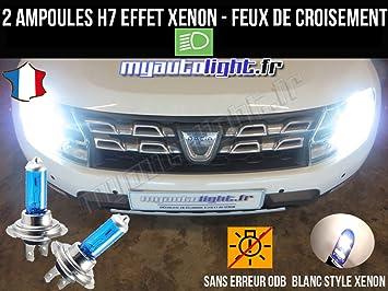 Pack de bombillas de luces de cruce para Peugeot 508 (H7 Xenon), color blanco: Amazon.es: Coche y moto